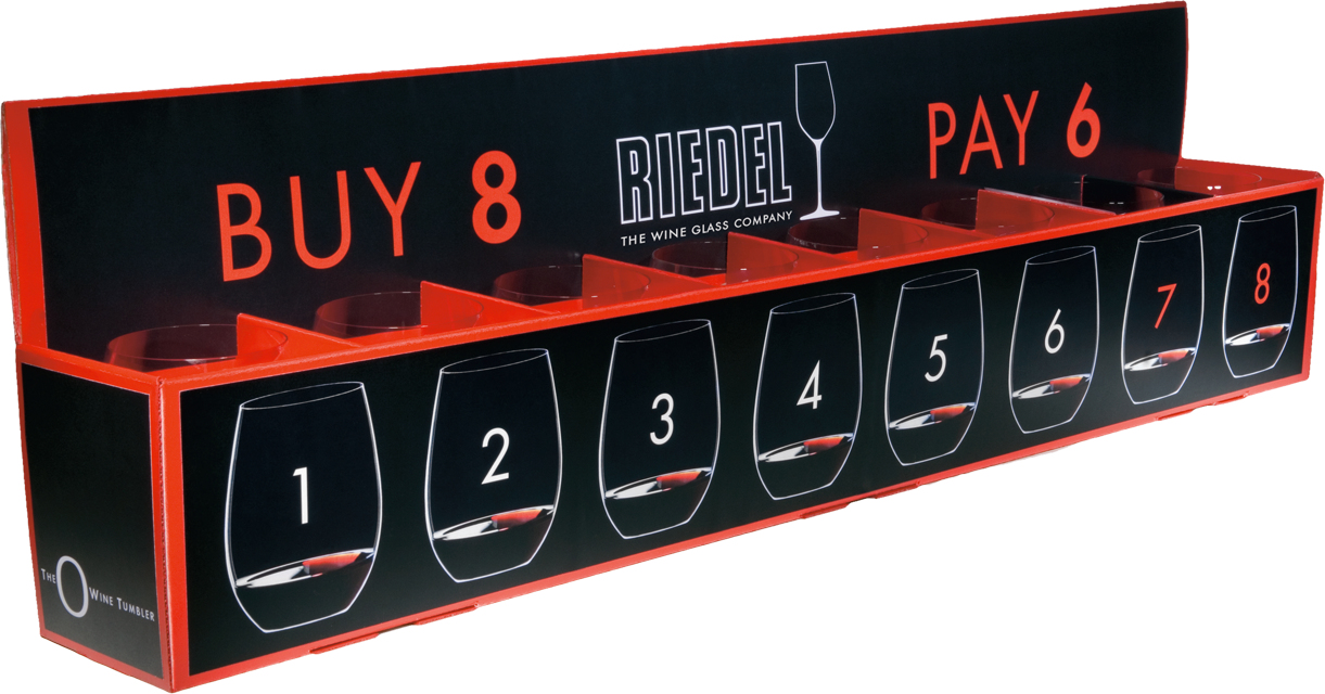 RIEDEL `O` Buy 8 pay 6 5414/80