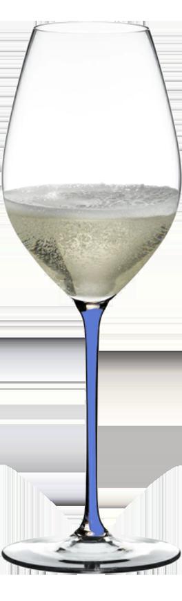 RIEDEL Fatto a Mano Champagne Wine Glassl Sky Blue 4900/28SKY