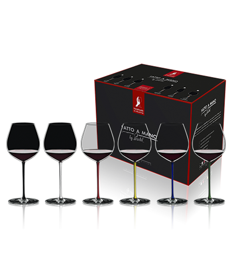 RIEDEL Fatto a Mano Set 6 Old World Pinot Noir 7900/07