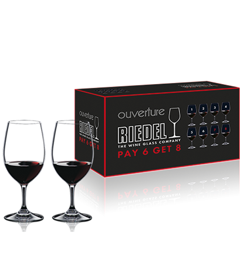 RIEDEL Ouverture Pay 6 Get 8 Magnum 7408/90
